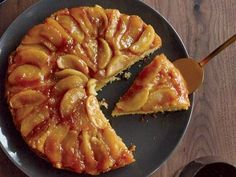 This is one of the best upside-down cakes ever—the maple syrup infuses both the apples and the cake, making the dessert taste like a stack of apple pancakes.