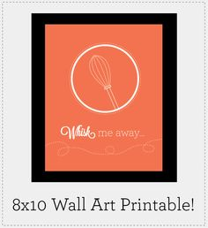 Free Kitchen Wall Art Printable from @20Goingon80