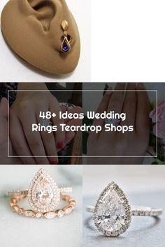 48+ Ideas Wedding Rings Teardrop Shops Wedding Rings Teardrop, Diamond Earrings, Shops, Shopping, Ideas, Jewelry, Tents, Jewlery, Jewerly