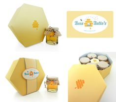 Bees and Bette's honey packaging