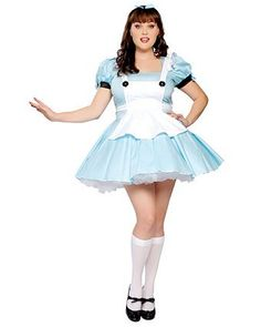 Sexy Alice Adult In Wonderland Plus | Wholesale Fairytale Halloween Costumes for Sexy
