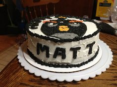 Matt Jr.'s bday cake!