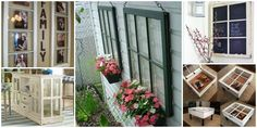 15 Fabulous DIY Decorating Ideas Using Old Windows for Home and Garden | NewDiyDesign.eu