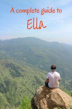 Complete Travel Guide to Ella, Sri Lanka - Something of Freedom Best Travel Guides, Travel Advice, Travel Tips, Travel Ideas, Travel Abroad, Travel Hacks, Ursula, Bhutan, Train Rides