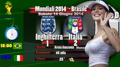 Inghilterra Italia 1 2 Marchisio e Balotelli - Mondiali 2014 : Commento