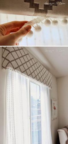15 idées de traitement de fenêtre bricolage et tutoriels