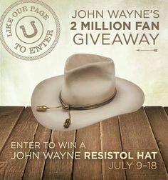 Real cowboys wore beaver felt hats like this John Wayne replica - The Fort 480d07b031c9