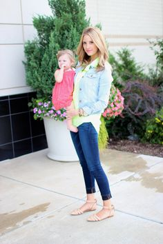 More of a mom blog but she is amazingly cute and has great outfits even for non-moms.