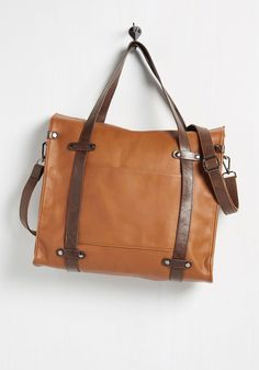 Camp Director Tote in Caramel, #ModCloth