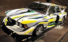 Roy Lichtenstein Group 5 BMW 325i 1977 - Painted by the artist we did for Art Discovery
