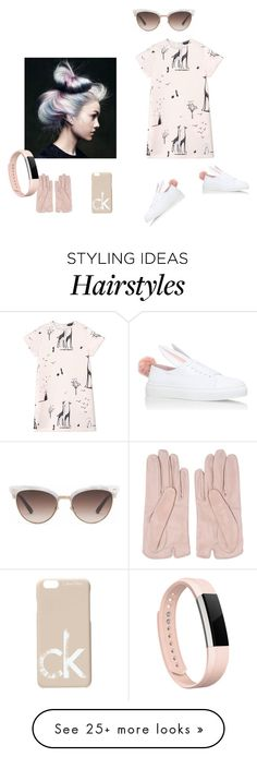 """bunny shoes"" by roxariaone on Polyvore featuring Mario Portolano, Minna Parikka, Rochas, Calvin Klein, Gucci and Fitbit"