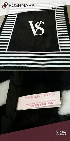 Victoria's Secret Blanket NWOT  Tag was removed,  but blanket was never used. Still soft and fuzzy!   Measures aprox 60x48  ⚠Please make offers thru the OFFER TAB ONLY. I DO NOT negotiate on the listing⚠  ❌No trades  ❌No modeling  30 PINK Victoria's Secret Other