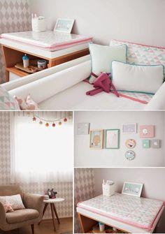 5 IDEAS DE COMO DECORAR EL CUARTO DE TU BEBE Hola Chicas!! Les dejo unas ideas de como decorar la habitación de tu bebé, para que se sienta muy a gusto y protegido. A la hora de decorar la habitación es buena idea distribuir los muebles (mejor pocos y prácticos) de forma armónica y sencilla y hazte con una cómoda con gran capacidad de almacenaje y cambiador sobre ella.