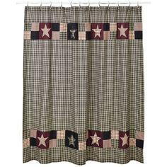 Primitive Shower Curtains, Primitive Bathroom Decor, Kitchen Decor, Prim Decor, Primitive Homes, Country Primitive, Primitive Signs, Primitive Crafts, Country Farmhouse