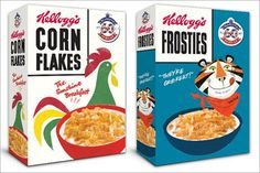 Kellogs Retro design - Queen's Diamond Jubilee 2012