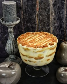 Desserts In A Glass, Cold Desserts, Tiramisu, Cake Recipes, Dessert Recipes, Dessert Decoration, Sweet Cakes, Cakes And More, Food And Drink