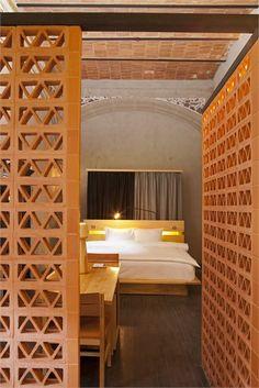 Downtown Mexico - Member of Design Hotels™ - Cittá del Messico, Mexico - 2012 - Cherem Serrano Arquitectos #architecture #design #bedroom