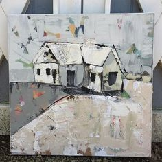 Home is where love resides, memories are created, friends and family belong and laughter never ends. -Unknown. Painting on canvas original painting $350. Prints available in multiple sizes. #staciekearnsart