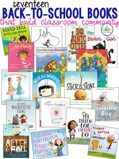 Back-to-school books that build classroom community