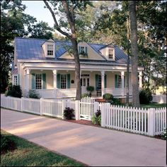 Colonial Cottage Country Craftsman Farmhouse Southern Traditional House Plan…