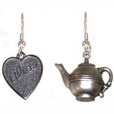 Alice's Tea Party Earrings;