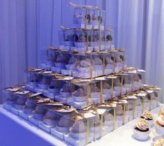 Cupcake Favors! / Souvenirs de casamiento