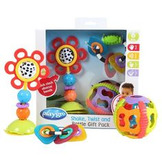 Playgro Shake, Twist, and Rattle Pack : Target