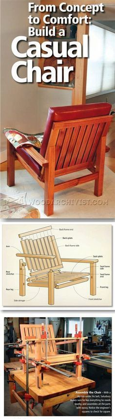 Lovely Lounge Chair Plans Furniture Plans and Projects Trending - Inspirational wooden lounge chair plans Ideas