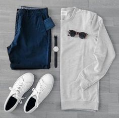 Casual outfit grids for men. Source by casual outfits Mens Fashion Blog, Urban Fashion, Fashion 2016, Stylish Men, Men Casual, Stylish Clothes, Casual Outfits, Fashion Outfits, Outfit Grid