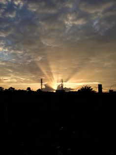Sunset in Hosur... An amazing time to be there