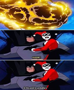 Batman Always Had Impeccable Timing. Precious Joker, we fangirls shall resurrect your harmed body and soul.
