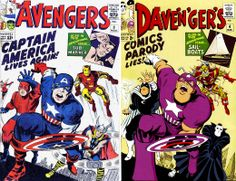 A MOMENT OF CEREBUS: Cover Parodies: Dave 'n' Ger's