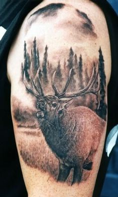 Hunting Tattoos on Pinterest  Deer Hunting Tattoos Fishing