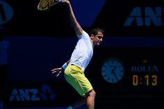 Nicolas Almagro's awesome back hand