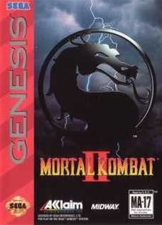 Mortal Kombat II Sega Genesis Game Cartridge | DKOldies.