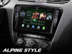 Alpine Headunits for Skoda Alpine Style, Android Auto, Porsche, Radios, Porch