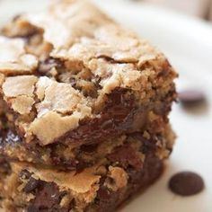 My Friend's Mom used to make these!!!!  <3 Congo Bars