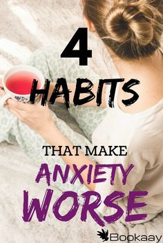 Mental health-Four common habits proven to make anxiety worse. You might want to avoid these common actions if you want to recover from anxiety. The first habit is. What Causes Anxiety, Deal With Anxiety, Anxiety Tips, Anxiety Help, Social Anxiety, Stress And Anxiety, Anxiety Cure, Overcoming Anxiety, Calming Anxiety