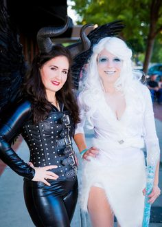 Ice Queen and Malificent