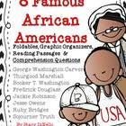 I am so excited and proud of this unit.  This product concentrates on 8 famous African Americans including: Booker T. Washington, Fredrick Douglass, George Washington Carver, Thurgood Marshall, Jackie Robinson, Jesse Owens, Ruby Bridges, and Sojourner Truth!  Foldables, graphic organizers, reading passages, comprehension questions, and coloring book!