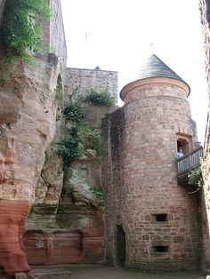 Burg Nanstein - Landstuhl, Germany Great memories at this castle as a child and teenager.