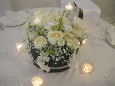 un centrotavola raffinato elegante curato nei minimi dettagli. #flò #matrimonio #fiori