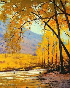 Красочные пейзажи Graham Gercken (Грем Геркен)