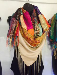 These scarves changed my day. I wanted them all. You can wear them three ways and even as a skirt. I love them!