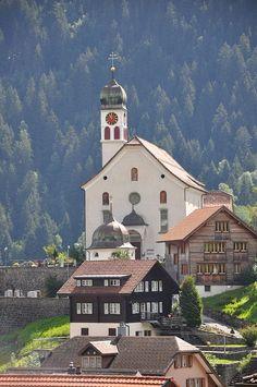 "Wassen (Kanton Uri) - Church / Kirche / Eglise ""St. Gallus"""