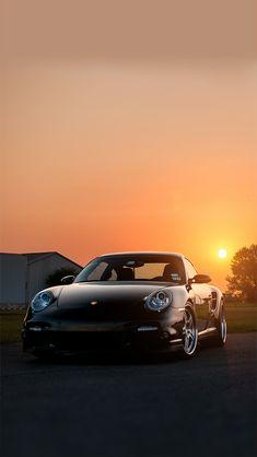 iPhone X Wallpapers: Photo Porsche 911, Porsche Turbo S, Black Porsche, Exotic Sports Cars, Cool Sports Cars, Sport Cars, Automotive Photography, Car Photography, Porsche Iphone Wallpaper