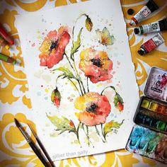 Les magnifiques aquarelles danimaux et de plantes de Sally Walsh  Dessein de dessin