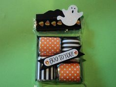 Halloween Treat Holder by candee porter - Cards and Paper Crafts at Splitcoaststampers