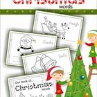 My Book of...Christmas Words FREE!  A Christmas vocabulary half-page booklet to help students learn new vocabulary words!  This is a very flexible booklet and can be used in many ways. A few ideas are: 1. Personal vocabulary booklets for each student 2.