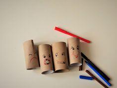 Paper roll - haircut Cardboard Art, Activities For Kids, Rolls, Hair Cuts, Paper, Haircuts, Kid Activities, Bread Rolls, Petite Section